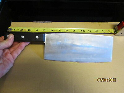 Joyce Chen Chef Chrome Molybdenum Steel Butcher Knife Meat Cleaver Knife Japan