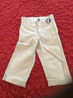 Baby GAP Boys Chino Type Trousers age 2. Brand new with tags