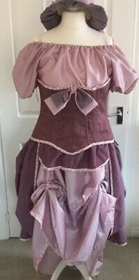 Victorian Steampunk adjustable size 12-18 complete outfit