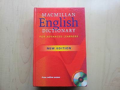 Macmillan English Dictionary for Advanced Learners - Englisch Lexikon