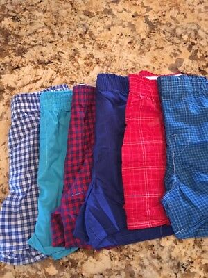 Lot Boys Fruit Of The Loom Boxers New Without Tag Sz Small (6-8)