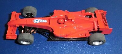 """SCX / Scalextric Compact F1 Special Edition """"GALLETAS OREO"""" Rot"""