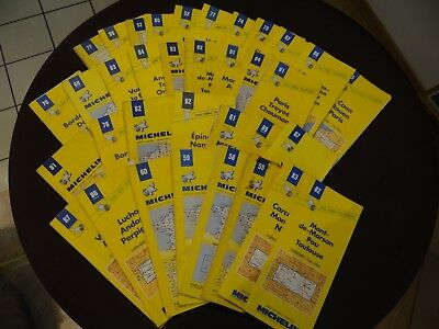 Lot De 52 Cartes Michelin
