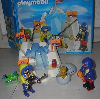 PLAYMOBIL 3193 Polarexpedition Dinosaurier Forscher in OVP