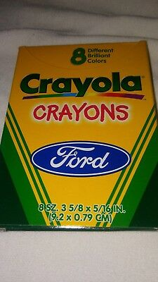 Vintage Box Of Crayola Crayons From The Ford Motor Company
