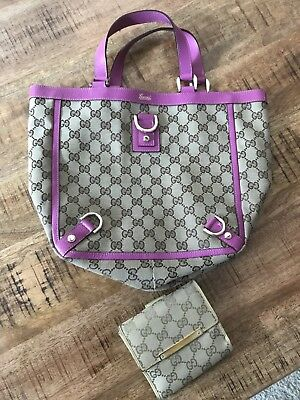 GUC GUCCI Handbag +Wallet LOT! From Beyond The Rack! LOOK!
