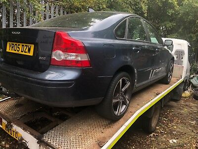 2005 Volvo S40 Se D (E4) Spares Or Repairs No Mot Has Leather And R-Design Rims