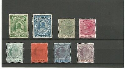 Nice small lot Niger Coast and Lagos 1800's-1900's mh-