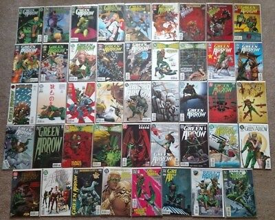 Green Arrow #0, 86, 90, 95, 98, 101-137, Annual 7 Death of Oliver Queen Lot 1994