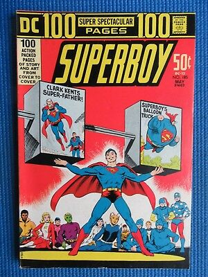 Superboy # 185 - (Vf) - Double-Sized - Clark Kent's Super-Father,balloon Trick
