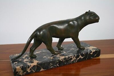 Art Dèco Panther Bronze