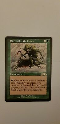 MTG Magic the Gathering   Survival of the Fittest  Exodus