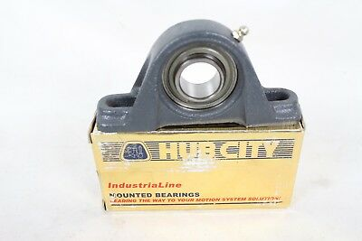 "NEW NIB HUB CITY PB220 X 1"" MOUNTED BEARING PB220X1 Industrial Line"