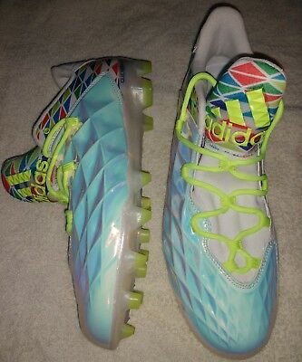 Adidas CrazyQuick LAX Football Cleats Refractor Men's Size 12 Low Lacrosse NEW!