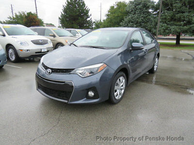 Toyota Corolla 4dr Sedan CVT S 4dr Sedan CVT S Automatic Gasoline 1.8L 4 Cyl GRAY
