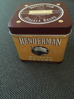 Pixar Renderman Walking Teapot Ltd. Edition Bronze Wind-Up Siggraph 2005 #3275