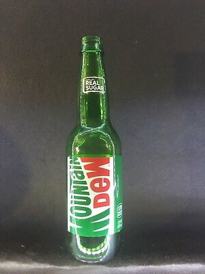 Mountain Dew, Mt Dew, Soda Bottle, Sticker Label