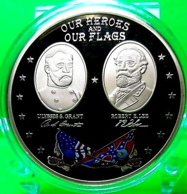 Heroes And Flags Of The Civil War Commemorative Coin