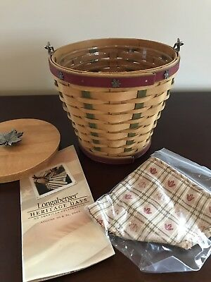 Longaberger Heritage Days Basket 2003 With Signatures