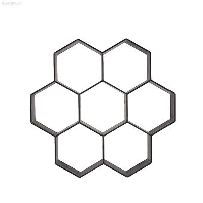 FAC0 Hexagon Driveway Paving Pavement Stone Mold Stepping Pathmate Mould Paver