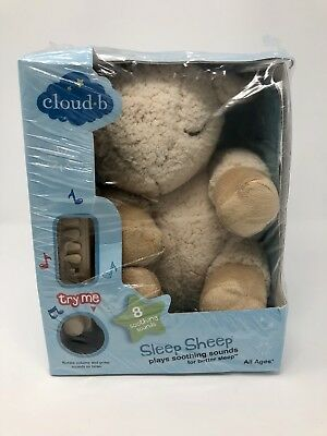 New in bag Cloud B Sleep Sheep Plays Soothing Sounds For Better Baby Sleep