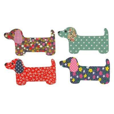 Dachshund Dog Nail Files 4 Designs Birthday Gift Collectable By Sass & Belle