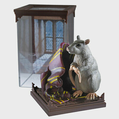 Harry Potter Magical Creatures Scabbers Figurine Noble Collection  NN7686