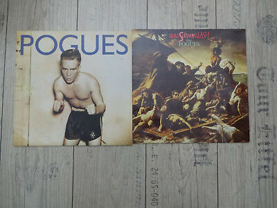2 X Pogues - Peace and love,Rum sodomy & the lash