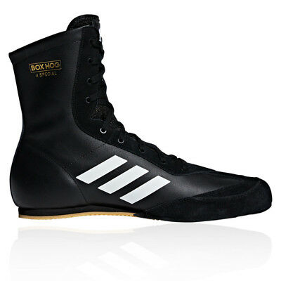 adidas Mens Box Hog X Special Boxing Shoes Black Sports Lightweight Trainers