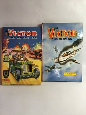The Victor Book For Boys 1971/72
