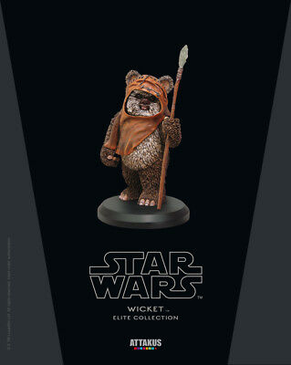 Star Wars Wicket Attakus Elite Collection NEW Mini Statue