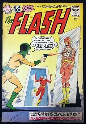 Flash (1959) #119 VG (4.0) wedding Elongated Man Sue Dearborn Mirror Master app