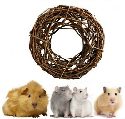 Natures 100% Natural Willow Garland Ring Wreath Nibble Gnaw Toy