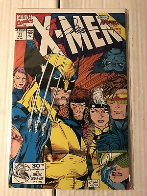 X-Men #11 NM Signed by Jim Lee