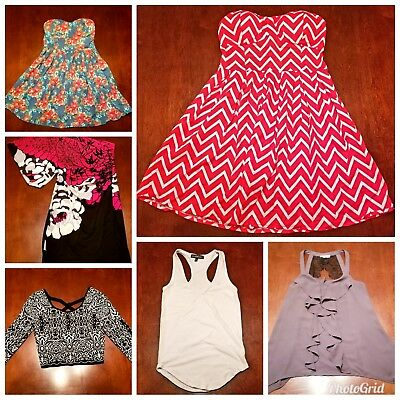 Women's Clothing Lot- Rue21, MOSSIMO, Derek Heart, A.Byer, Wallflower, Maurices