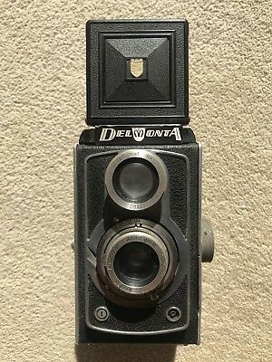 Vintage Montanus  Delmonta 120mm TLR Camera