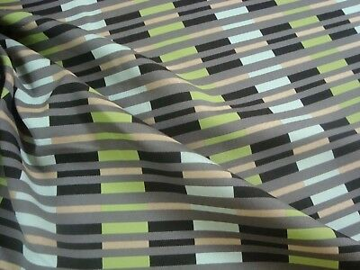 """One Yard MAHARAM RULE SAIL Dock STRIPE Outdoor UPHOLSTERY FABRIC 54"""" x 36"""" BTY"""