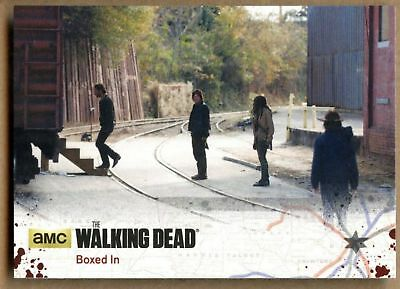Boxed In #70 The Walking Dead Season 4 Pt 2 Cryptozoic 2016 Trade Card (C1688)