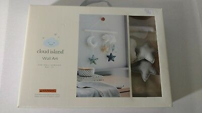 NEW CLOUD ISLAND Baby Hanging Wall Crib Decor Toy Nursery Infant Bedroom