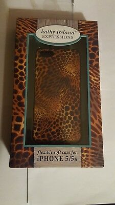 Kathy Ireland Expressions Flexible soft case for iPhone 5/5s