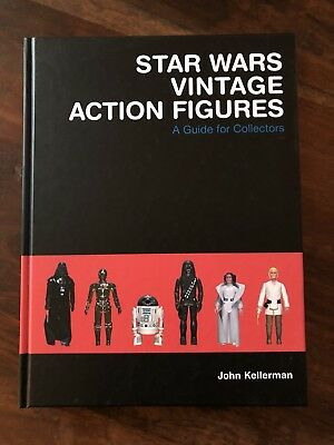 Star Wars Vintage Action Figures Book John Kellerman 1st edition 2003 Signed
