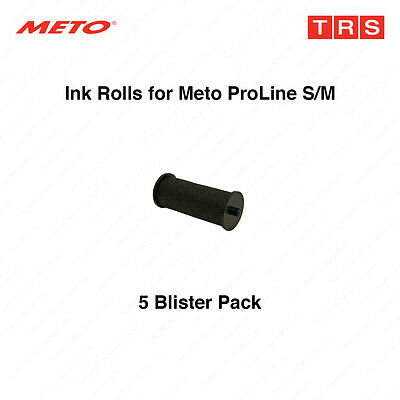 Ink Rolls / Ink Rollers for Meto Price Gun - 5 Blister Pack 8852660