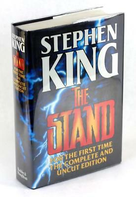 Stephen King 1990 The Stand The Complete & Uncut Edition Hardcover w/Dustjacket