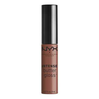 NYX - Intense Butter Gloss, Chocolate Crepe - 0.27 fl. oz. (8 ml)