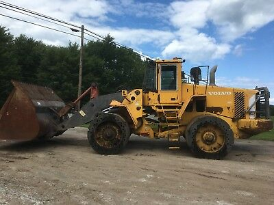 2003 Volvo L180E Wheel Loader