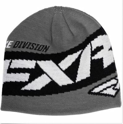 FXR Adult Gray Charcoal Podium Beanie Hat 171615-0800 171615-0800-00