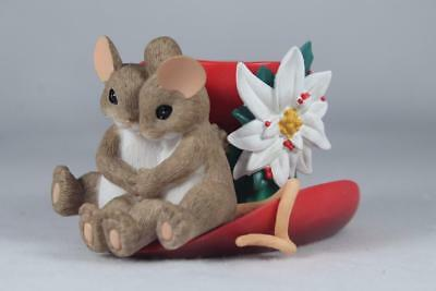 Charming Tails 'Nothing Tops Off The Season Like Having You By....' #4034346 NIB