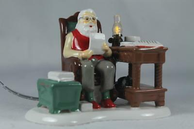 Dept 56 Snow Village Light Up Acc. 'Santa Comes To Town, 2018' LE #6000654 NIB