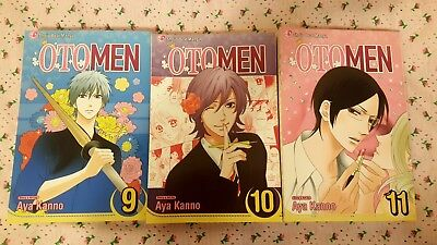 Otomen manga Volumes 9, 10, & 11 Lot (Free shipping! Excellent condition)