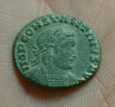 Unidentified Roman Coin. Metal detecting find. Super patina.